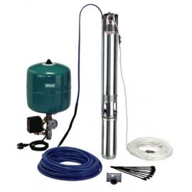 WILO TWU 4-0414-C-PnP/DS Υποβρύχιο συγκρότημα γεώτρησης 4'' με Πιεστικό δοχείο - Plug & Pump