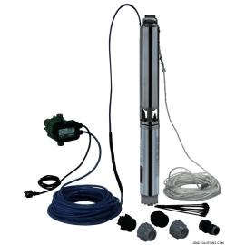WILO TWU 4-0409-C-PnP/FC Υποβρύχιο συγκρότημα γεώτρησης 4'' με FLUICONTROL - Plug & Pump
